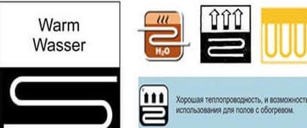 Маркировки линолеума которые можно положить на теплый пол