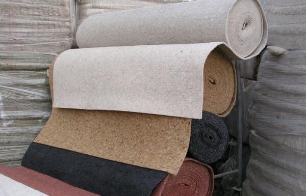 листовые и рулонные натуральные подкладки которые кладут на пол под линолеум на бетонный пол