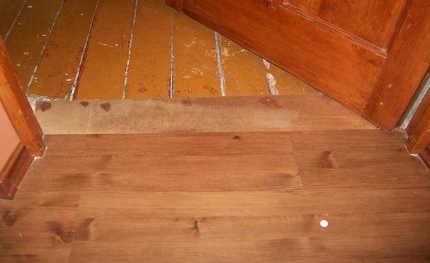 что постелить на доски требующие ремонта под линолеум