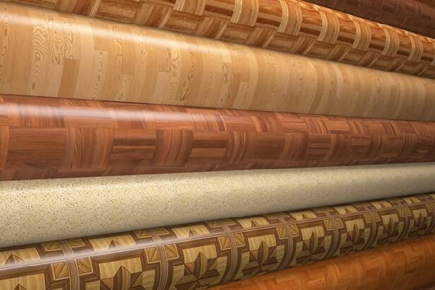 Образцы линолеума которые подходят для укладки на бетонный пол