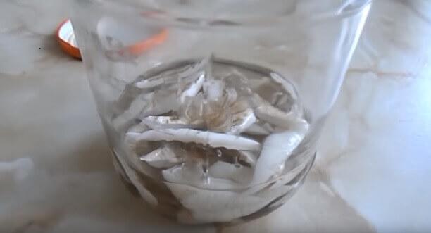 самодельная холодная сварка для линолеума из растворителя и остатков линолеума