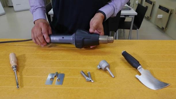 Набор инструментов для горячей сварки линолеума