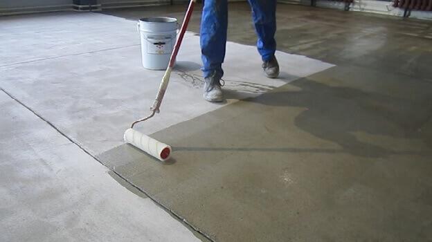 Грунтовка бетонного основания для укладки ламината
