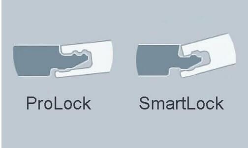 Особенности форм замков ламината SmartLock и ProLock