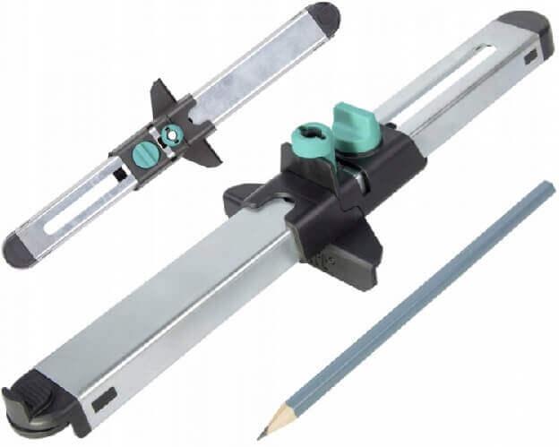 Разметочный шаблон в комплекте с карандашом инструмент для укладки ламината