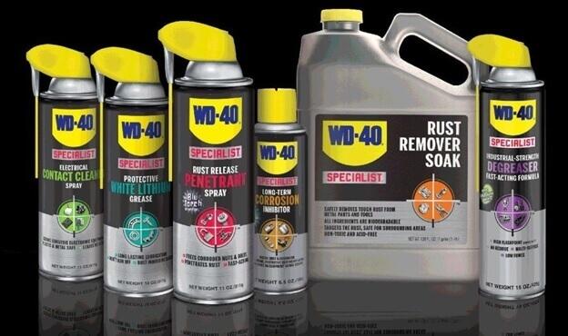 Смазка WD-40 для реставрации ламината