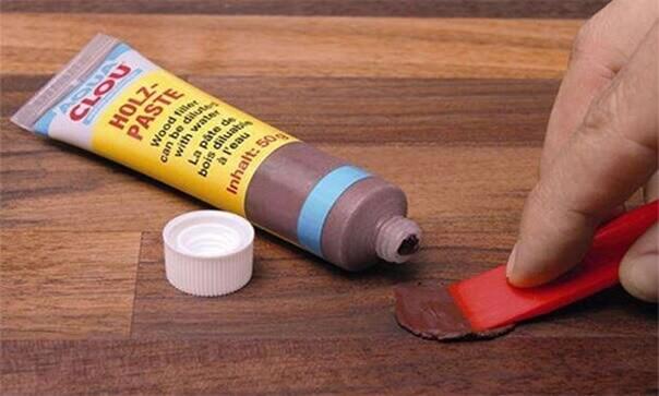 Восстановление ламината пастой из тюбика